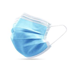 Slika od Zastitna maska troslojna sa gumicom plava 1/50