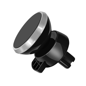 Slika od Drzac za mobilni telefon magnetni ROHS C9 srebrni (ventilacija)