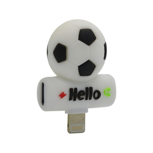 Slika od Adapter za iphone lightning handsfree/charging fudbal