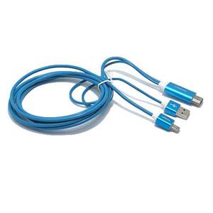 Slika od HDTV kabal S-M09 za Samsung S3/S4/NOTE2/NOTE3 (MHL to HDMI) plavi