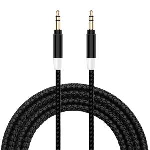 Slika od Audio AUX kabal Woven 3.5mm crni