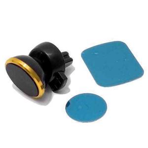 Slika od Drzac za mobilni telefon magnetni ROHS C9 zlatni (ventilacija)