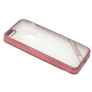 Slika od Futrola silikon ELECTRO DIAMOND NEW za Iphone 5G/5S/SE roze