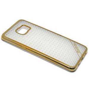 Slika od Futrola silikon ELECTRO DIAMOND NEW za Samsung G928 Galaxy S6 Edge Plus zlatna