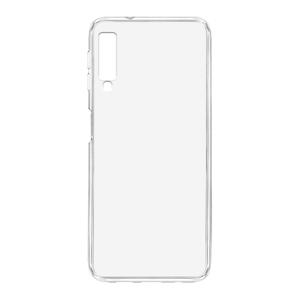 Slika od Futrola ULTRA TANKI PROTECT silikon za Samsung A750F Galaxy A7 2018 providna (bela)