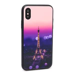 Slika od Futrola GLASS HD za Iphone X DZ01