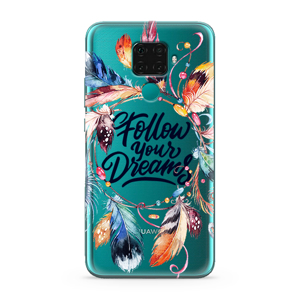 Slika od Futrola ULTRA TANKI PRINT CLEAR za Huawei Mate 30 Lite AT0001
