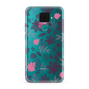 Slika od Futrola ULTRA TANKI PRINT CLEAR za Huawei Mate 30 Lite AT0003