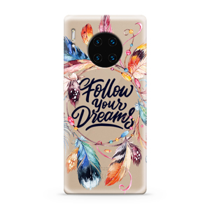 Slika od Futrola ULTRA TANKI PRINT CLEAR za Huawei Mate 30 Pro AT0001