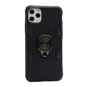 Slika od Futrola silikon DEFENDER RING za Iphone 11 Pro Max crna
