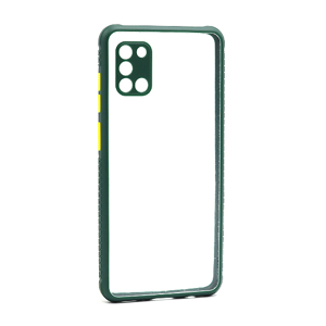 Slika od Futrola TRANSPARENT BACK za Samsung A315F Galaxy A31 zelena