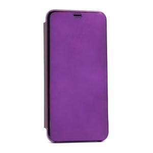 Slika od Futrola BI FOLD CLEAR VIEW za Huawei Y6p/Honor 9A lila
