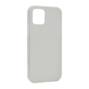 Slika od Futrola silikon GLITTER SHOW YOURSELF za Iphone 12 Mini (5.4) srebrna