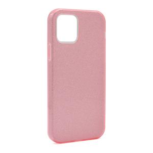 Slika od Futrola silikon GLITTER SHOW YOURSELF za Iphone 12/12 Pro (6.1) roze