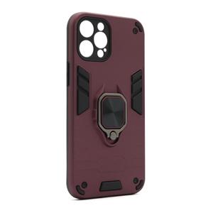 Slika od Futrola Square ring za Iphone 12 Pro Max (6.7) bordo