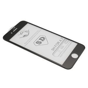 Slika od Folija za zastitu ekrana GLASS 5D za Iphone 7/8 crna