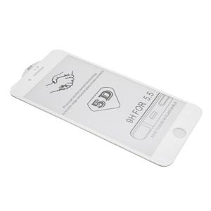 Slika od Folija za zastitu ekrana GLASS 5D za Iphone 7 Plus/8 Plus bela