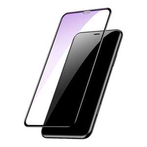 Slika od Folija za zastitu ekrana GLASS BASEUS ARC za Iphone XS Max crna 3D