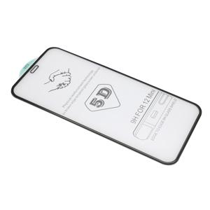 Slika od Folija za zastitu ekrana GLASS 5D za Iphone 12 Mini (5.4) crna