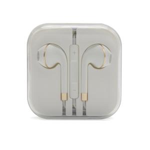 Slika od Slusalice za Iphone 3.5mm belo-zlatne