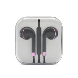Slika od Slusalice za Iphone 3.5mm crno-roze