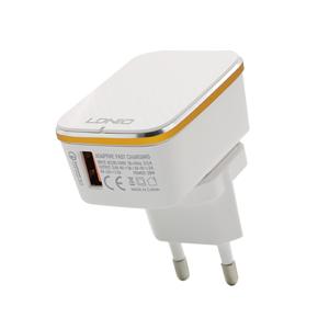 Slika od Kucni punjac LDNIO A1204Q USB 5V/3A FAST QC 3.0 microUSB beli