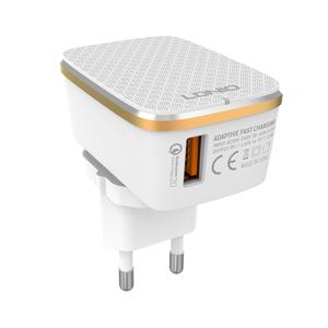 Slika od Kucni punjac LDNIO A1204Q USB 5V/3A FAST QC 3.0 za Iphone lightning beli