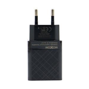 Slika od Kucni punjac Moxom MX-HC22 2xUSB 5V/2.4A microUSB crni