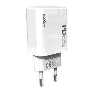Slika od Kunci punjac Moxom MX-HC25 USB type C na lightning 18W beli
