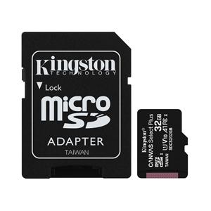Slika od Memorijska kartica Kingston Select Plus Micro SD 32GB Class 10 UHS U1 100MB/s + SD adapter