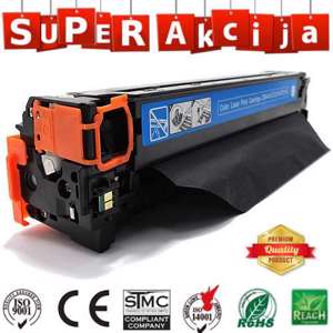 Slika od Toner PrinterMayin CB541A/CE321A/CF211A cyan HP CP1215/CP1515/CP1518/CP1525/CM1312/M251/M276 color laser