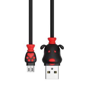 Slika od USB data kabal REMAX Fortune RC-106m za micro crni 1m