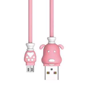 Slika od USB data kabal REMAX Fortune RC-106m za micro pink 1m