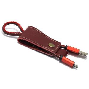 Slika od USB data kabal Pendant microUSB crveni