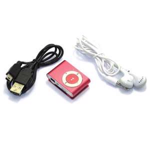 Slika od Mp3 player+USB+slusalice pink