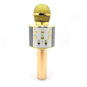 Slika od Mikrofon 858 Bluetooth zlatni