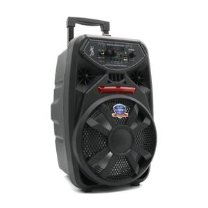 Slika od Zvucnik PK09L Bluetooth veliki crni sa zicanim mikrofonom