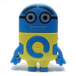 Slika od Mp3 player DESPICABLE tamno plavi